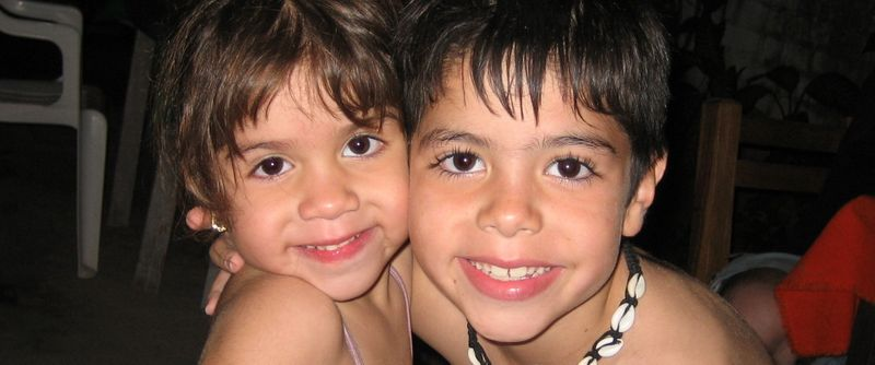 Kids in Mex
