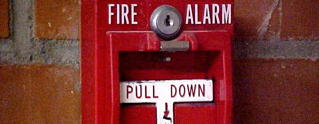 School fire alarm