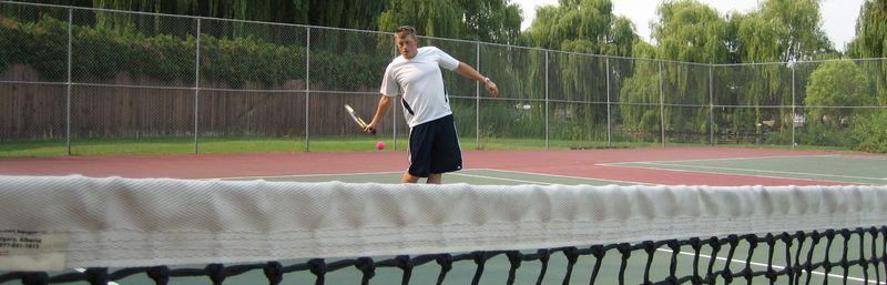 My Fella Tennis shot