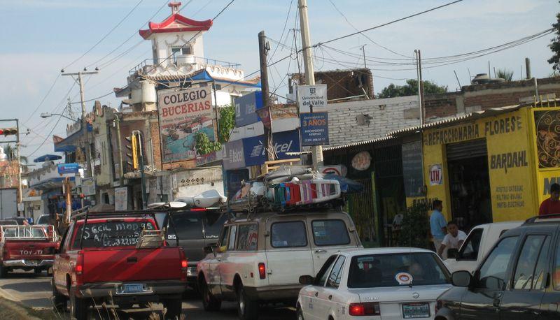 Bucerias highway
