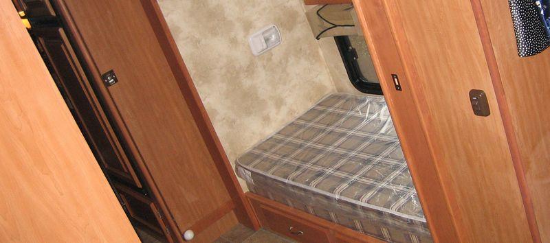 Top bunk gone