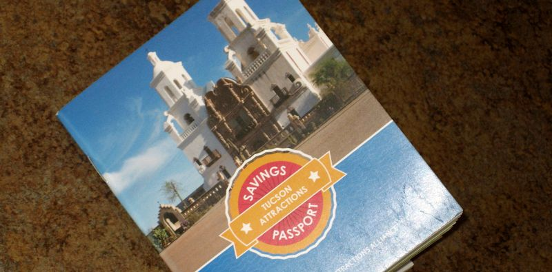 Tucson Passport book
