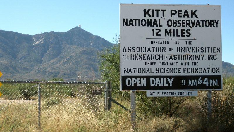 Kitt Peak drive
