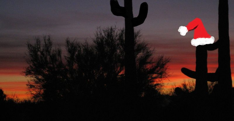 More desert sky