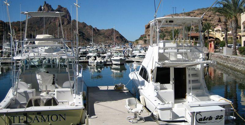 Boats in san carlos marina