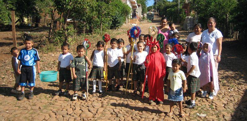 Mex school kids