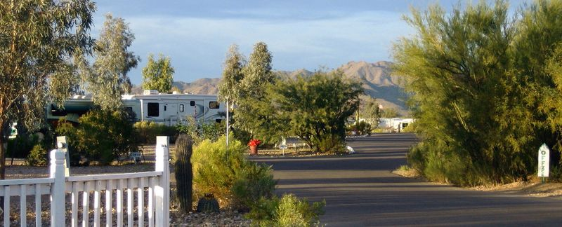 Desert RV resort