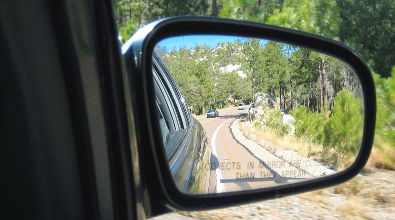 Sideview mirror mt lemmon