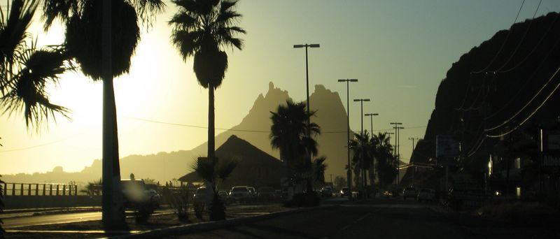 Road to San Carlos
