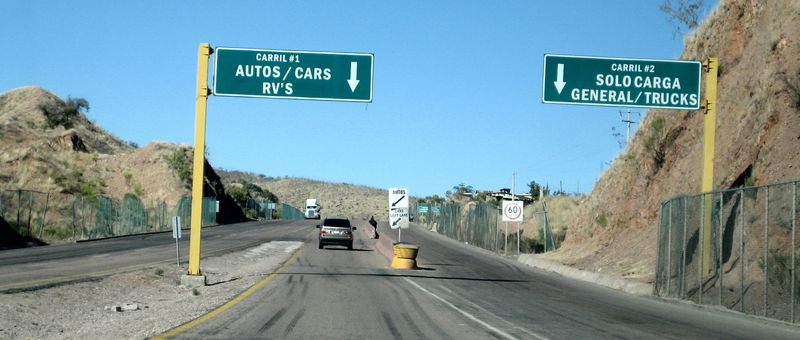 Nogales border to AZ 2