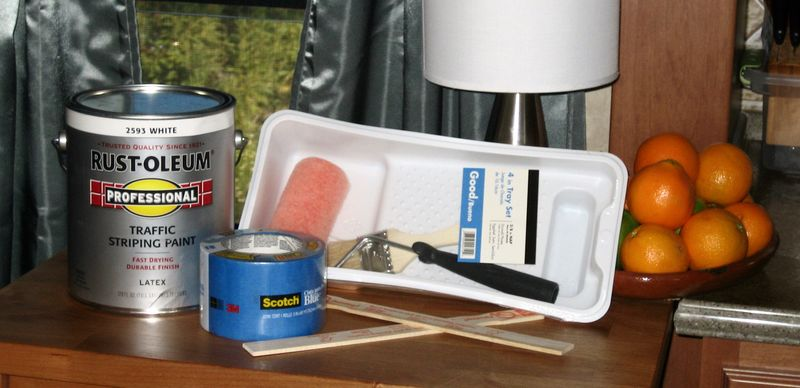 Pickleball paint supplies
