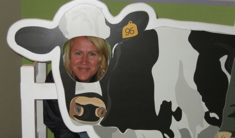 Me in the cow pic