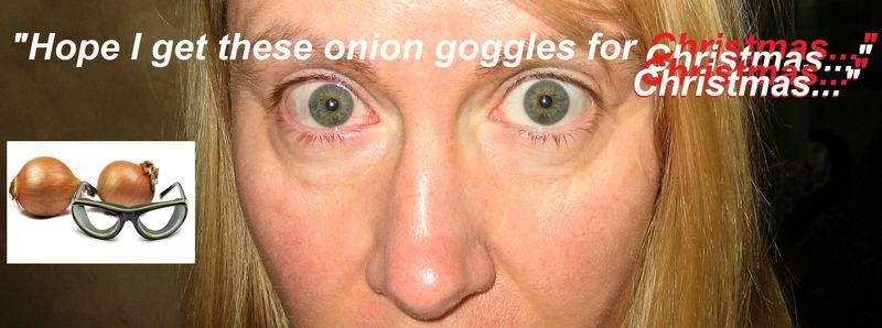 Onion eyeballs