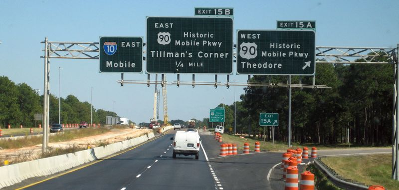 Getting closer to the wacky I-10 tunnel in Mobile