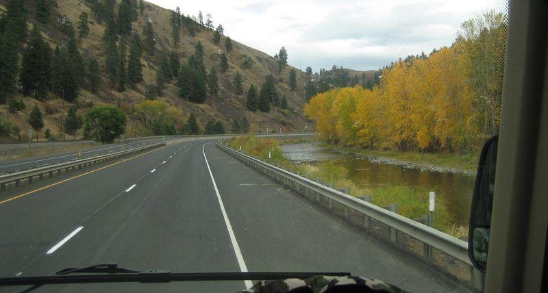 26  wonderful scenery thru Washington Oregon and Idaho