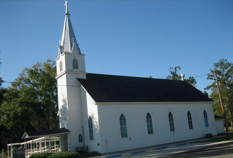 Bayou church