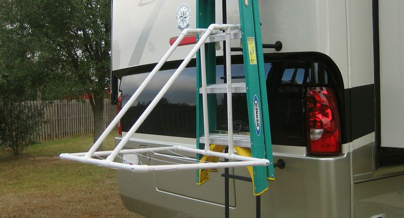 Here's how it looks hanging off the coach