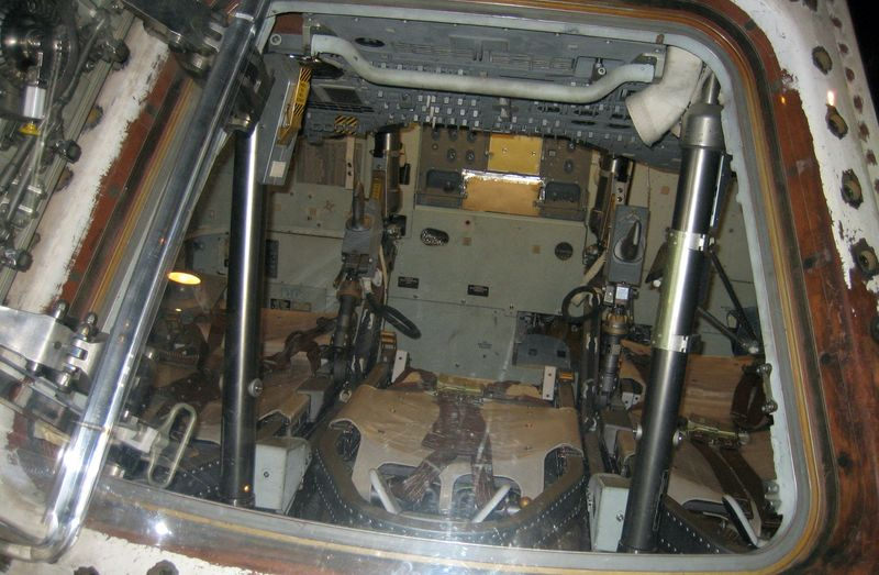 Inside the Skylab