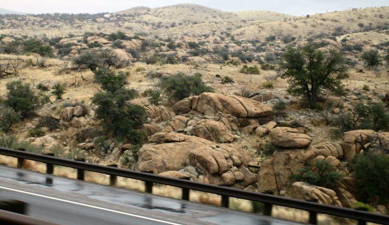 Dragoon rocks in Texas Canyon, Arizona