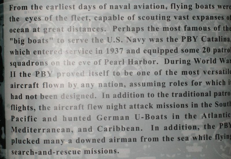 History of the PBY