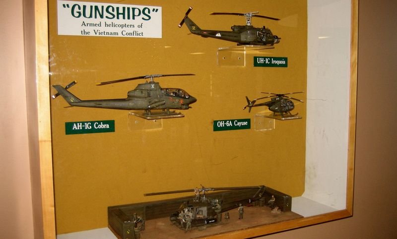 Choppers of all sizes in this museum