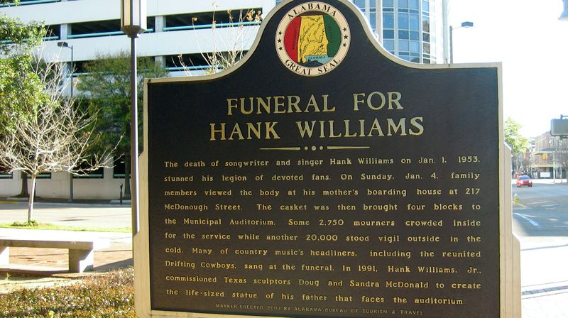 Hank Williams died in 1953