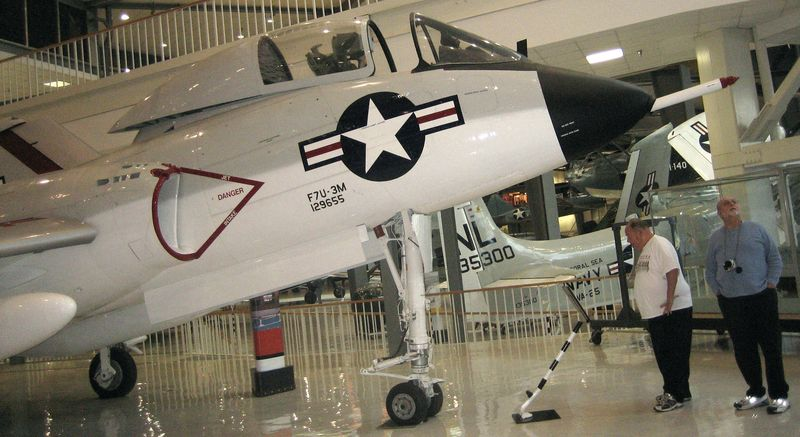 One of the 150 warplanes at the museum