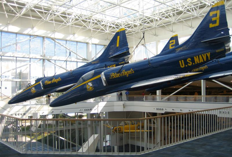 The famous Blue Angels