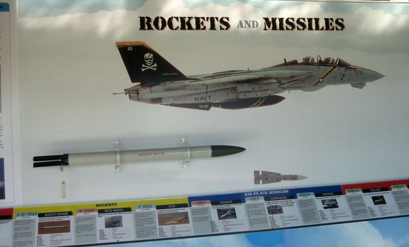 Rockets and missile display
