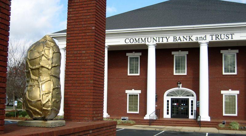 Community Bank and Trust peanut