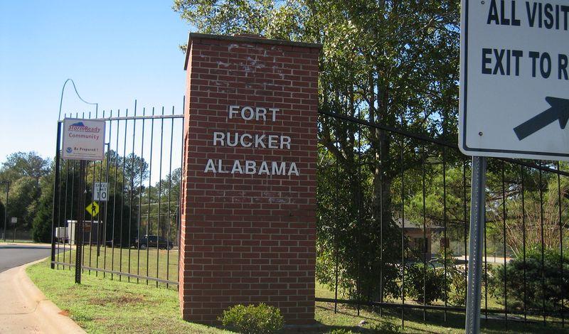 Gates to Fort Rucker