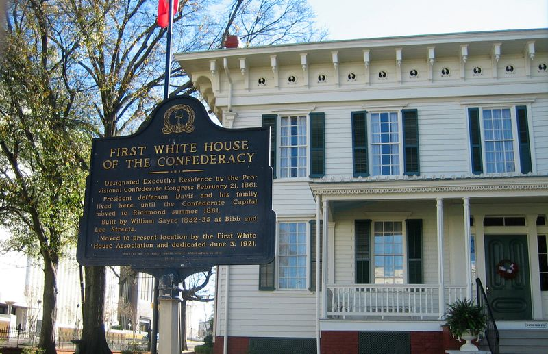 First White House of Confederacy