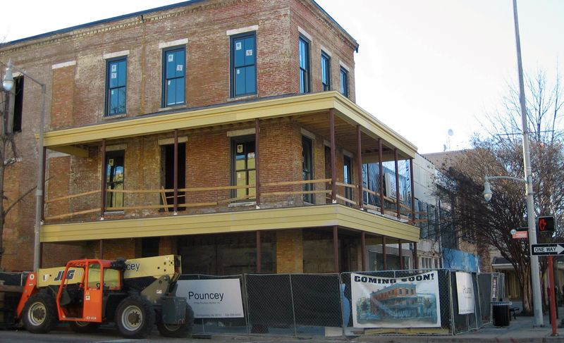 The 'old' part of downtown Montgomery is being revitalized and resold