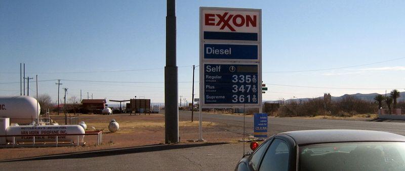 Thank you Exxon
