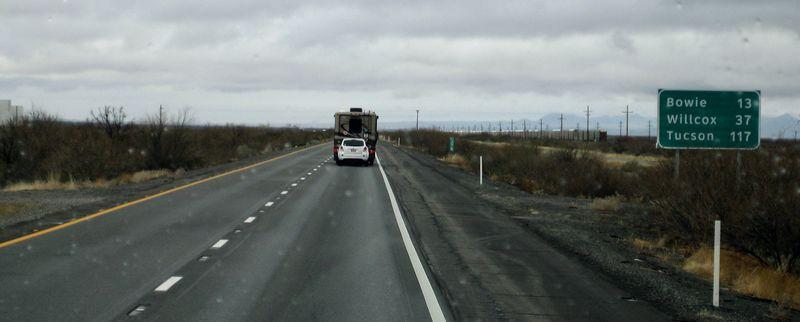117 miles to Tucson