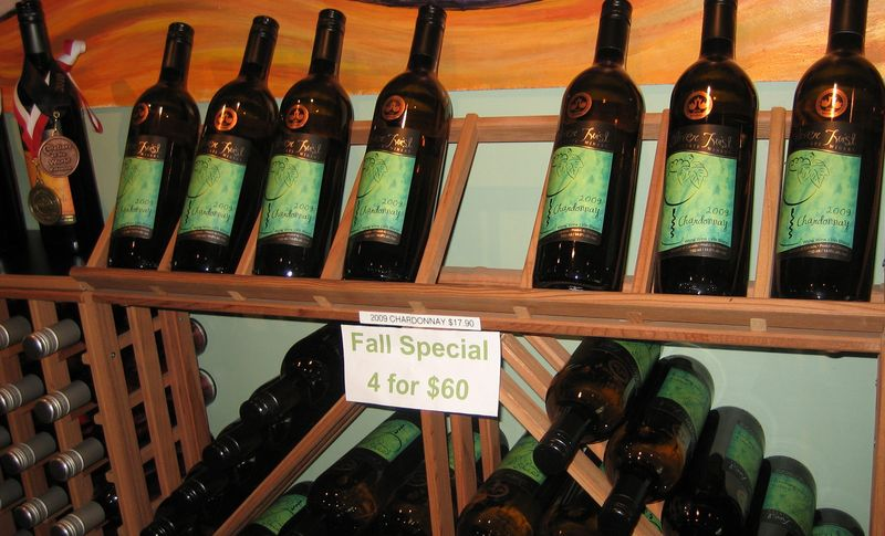 Fall wine special