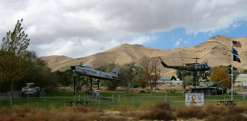 Nevada is a major army training state
