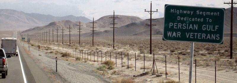 Persian Gulf War Vet sign