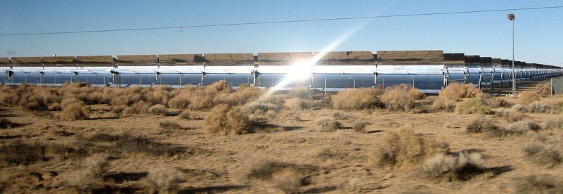 Kramer Junction solar farm