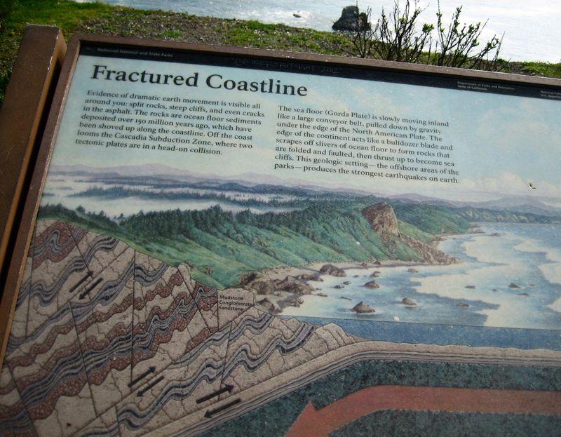 Fractured coastline