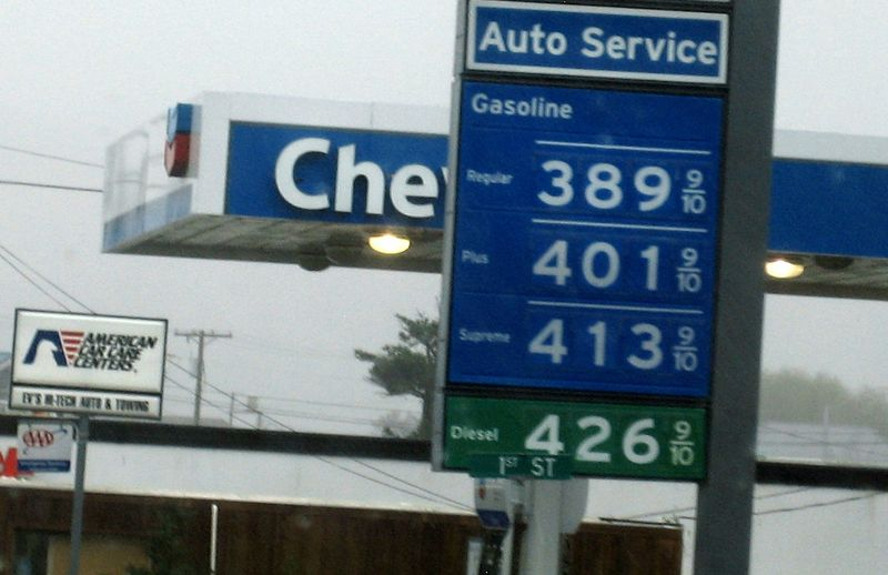 Chevron seeems to always be a bit more expensive