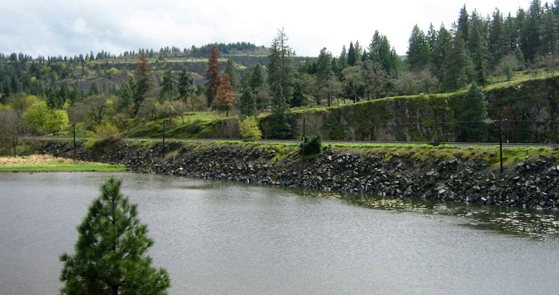 Tracks across the pond