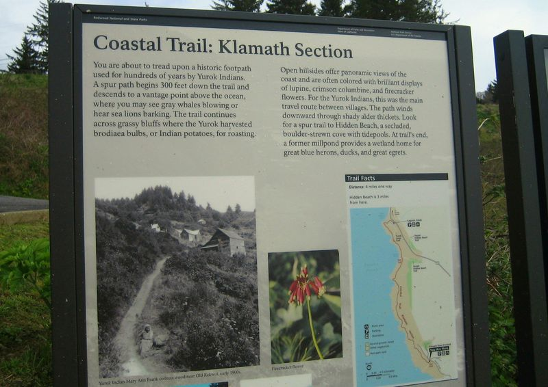 Coastal trail history