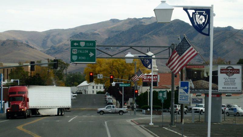 Heading to Fallon, Nevada