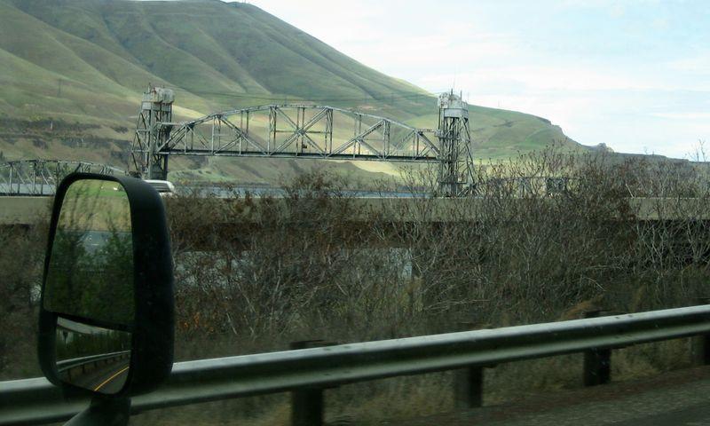 The bridge is up