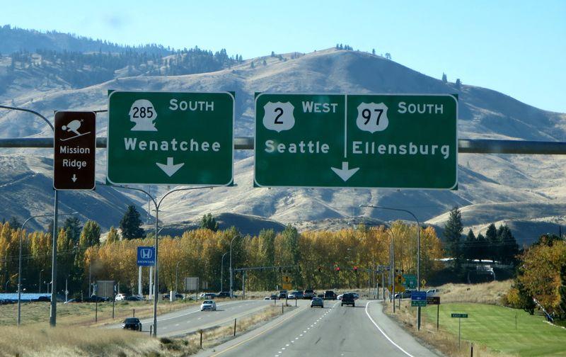 Wenatchee sign