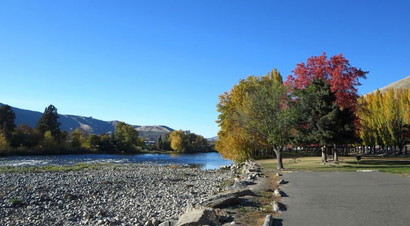 Pretty river view
