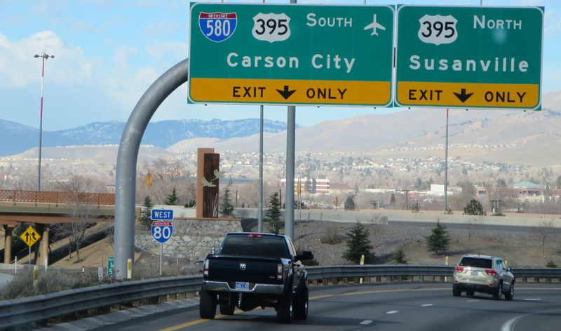 Carson City sign