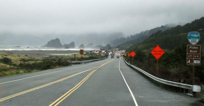 Lots of road work in Oregon