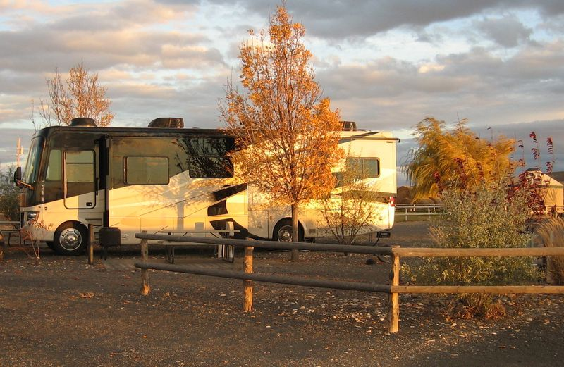 JohnnyDisco reflecting an Oregon sunset